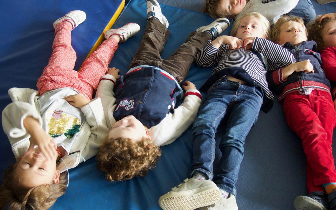 Seconde séance de yoga pour les maternelles