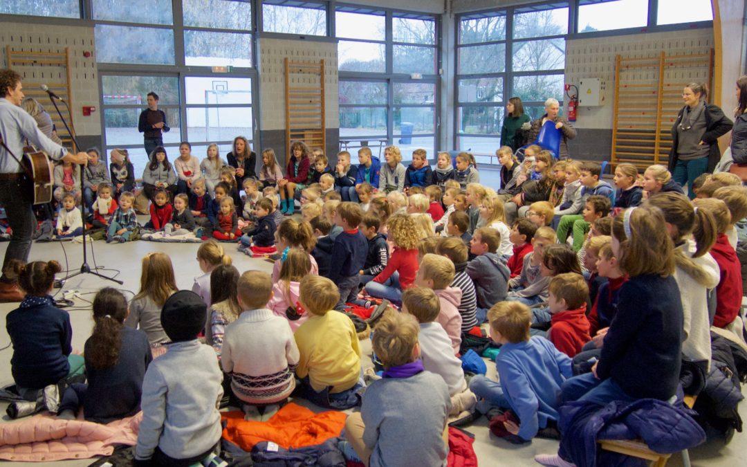 spectacle de l'école des Fables