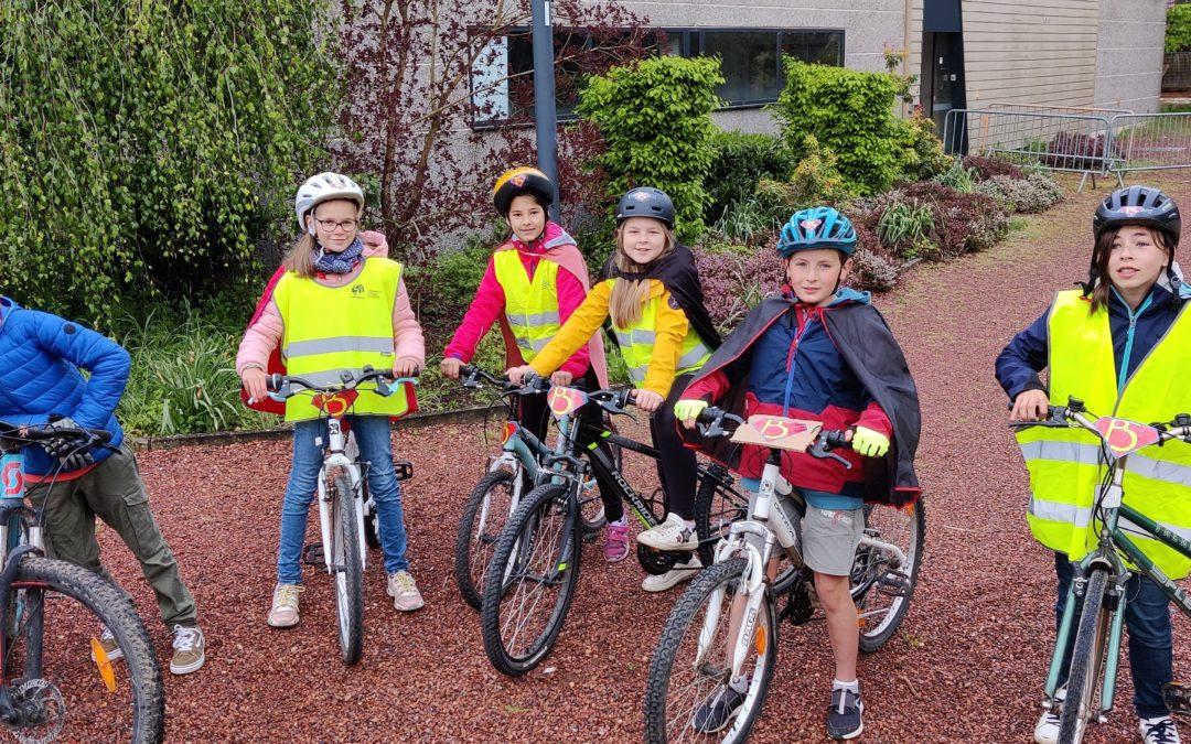 Allons à l'école en vélo